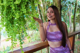 New face female model Jennifer from Costa Rica