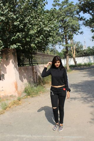 New face female model Shubhangi from India
