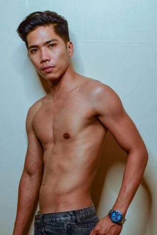 New face male model Sam from Philippines