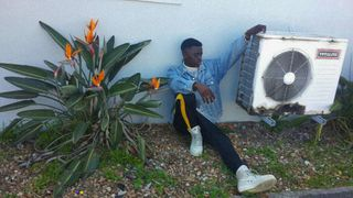 New face male model Denzel from South Africa
