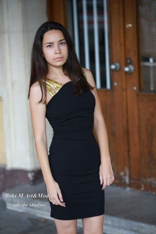 New face femme Mannequin Jelena from Serbie