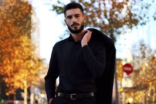 New face homme Mannequin Mehdi from France