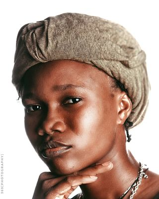 New face female model Omolara from Nigeria