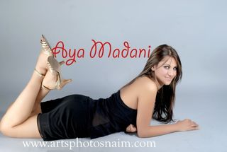 New face female model AYA from Tunisia