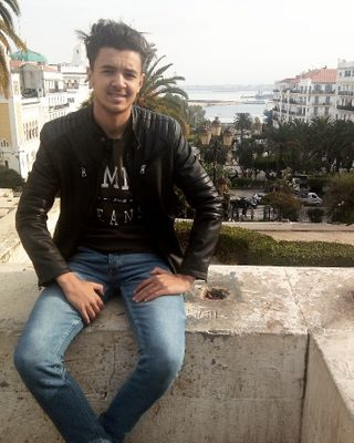 New face male model Missoum from Algeria