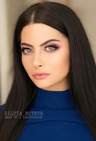 New face female model Christina from Bulgaria