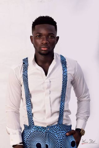 New face male model Rehendrix from Ghana