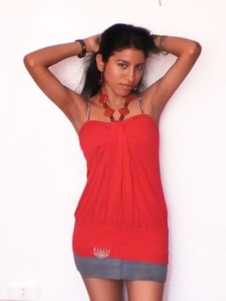New face female model Carla from Peru