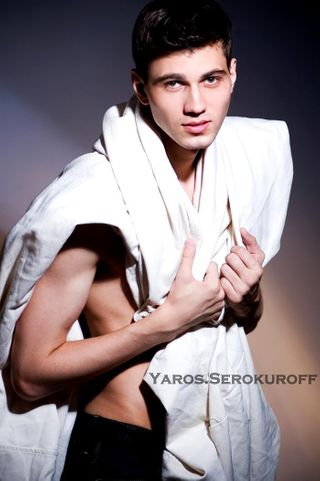 New face male model Yaroslavas from Russia