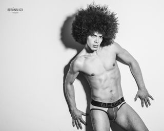 New face male model Keishmer from Finland