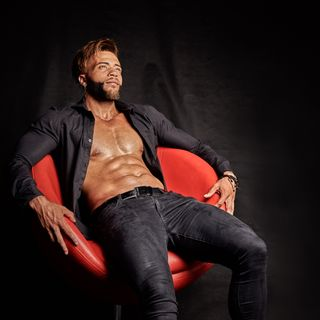 Professional model male model Ru from Colombia