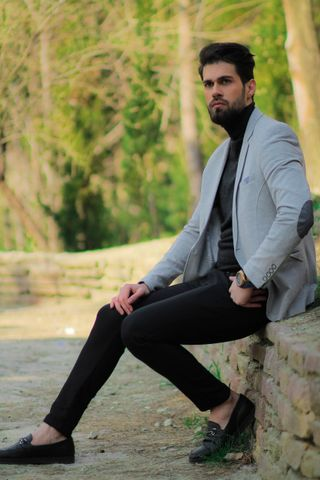 New face male model Maham from Iran