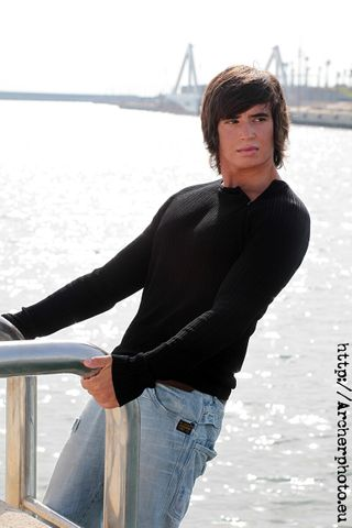New face male model Nicolás from Spain