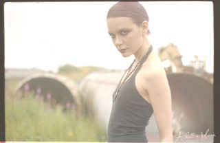 Cat Rennie by Andrew r.Moore. Hair by Sophie Laidlaw