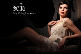 Ad campaign shoot for Sofia Vintage