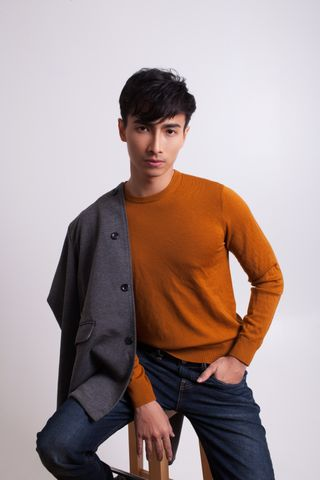 New face masculino modelo Vallence from Singapura