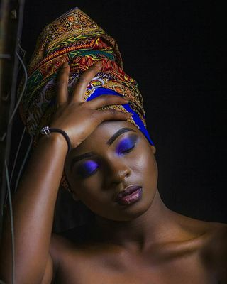 New Face weiblich Model Ashley from Zambia