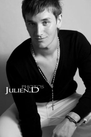 New face male model fabien from France