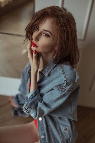 New face femminile modello Yuliya from Russia