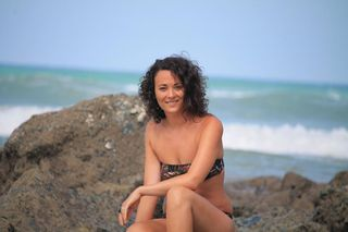 New face female model Pauline from France