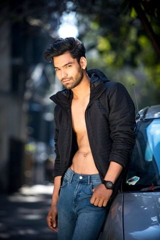 New face male model Sahil from India