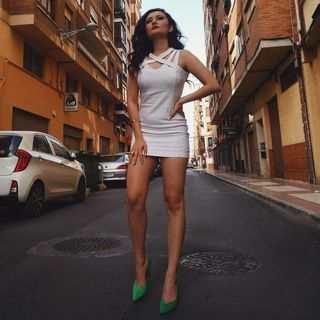 New face femme Mannequin Carla from Espagne