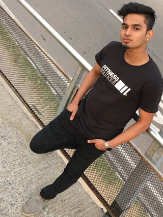 New face male model Alin from Bangladesh