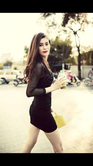 New face female model Phoebe from Vietnam