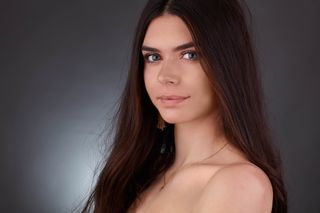 New face female model Morgane from France