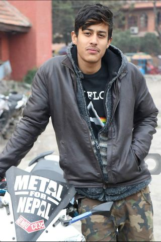 New face male model Suyogya from Nepal