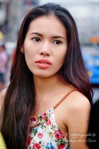 New face female model Chanel from Philippines