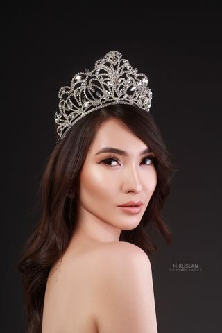 New face female model Aigul from Kyrgyzstan