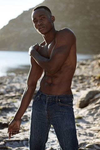 New face male model Abel from South Africa