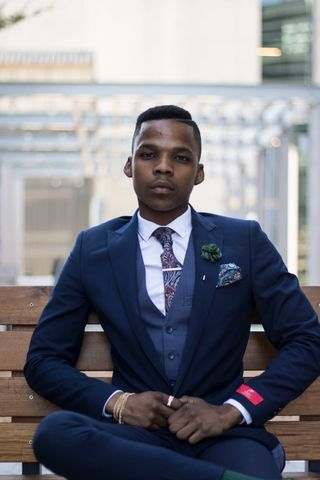 New face male model Sithembele from South Africa