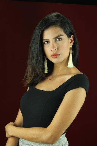 New face female model Valeria from Colombia