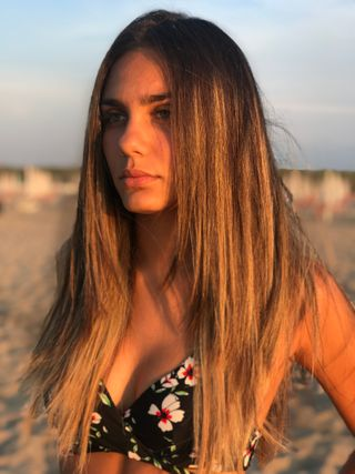 New face female model Floriana from Italy