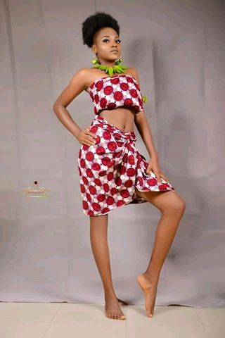 New face female model Divine from Nigeria