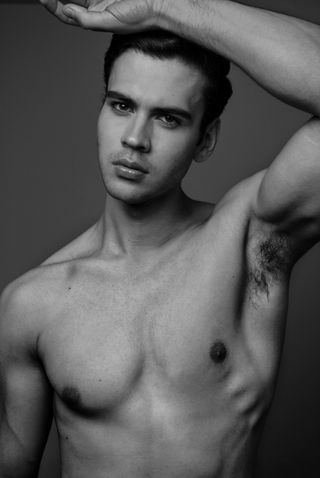New face male model Javier from Mexico