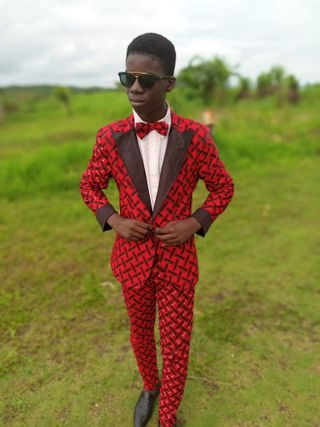 New face male model Emmanuel from Liberia