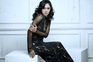 New Face weiblich Model Devina from Indonesien