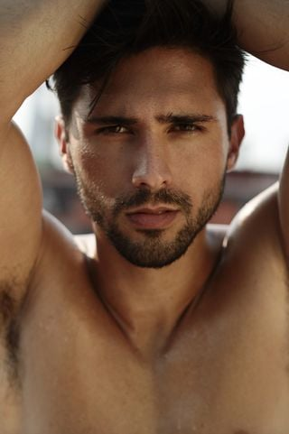 New face male model Luis from Spain