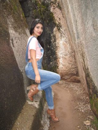 New face female model Stefhany from Peru