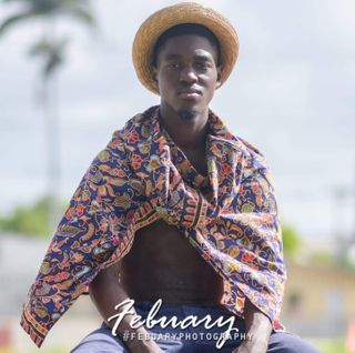 New face male model allenzo from Barbados