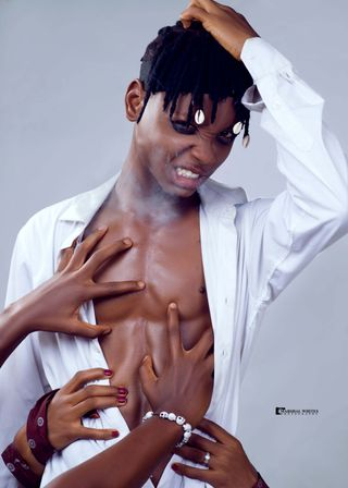 Professional model male model Insane from Nigeria