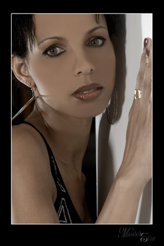 New face female model marianne from France