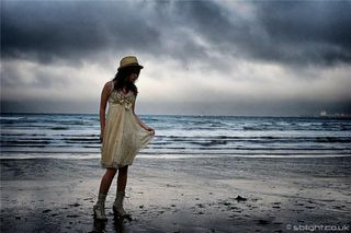 Beach: Photoshoot at meanporth beach in cornwall to build up my portfolio aswell as his.