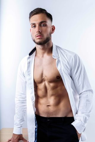 New face male model Marin from Croatia