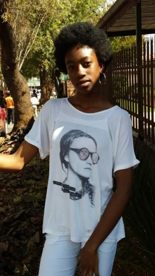 New face female model Mbali from South Africa