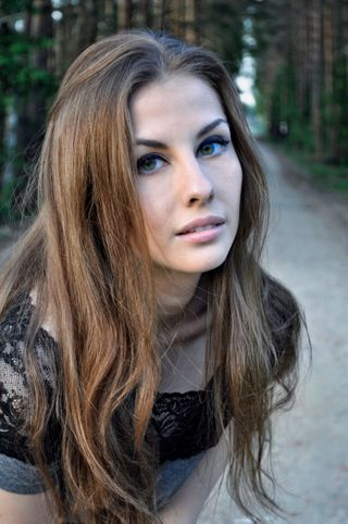 New face Female model Katerina from Canada