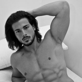 Professional model male model Marcello from Italy